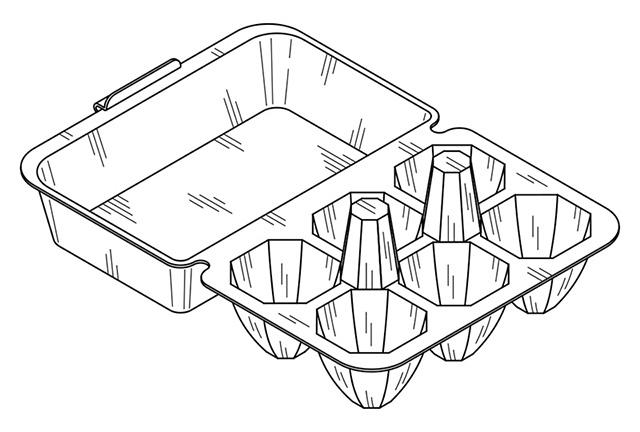 容器(陰影線図)
